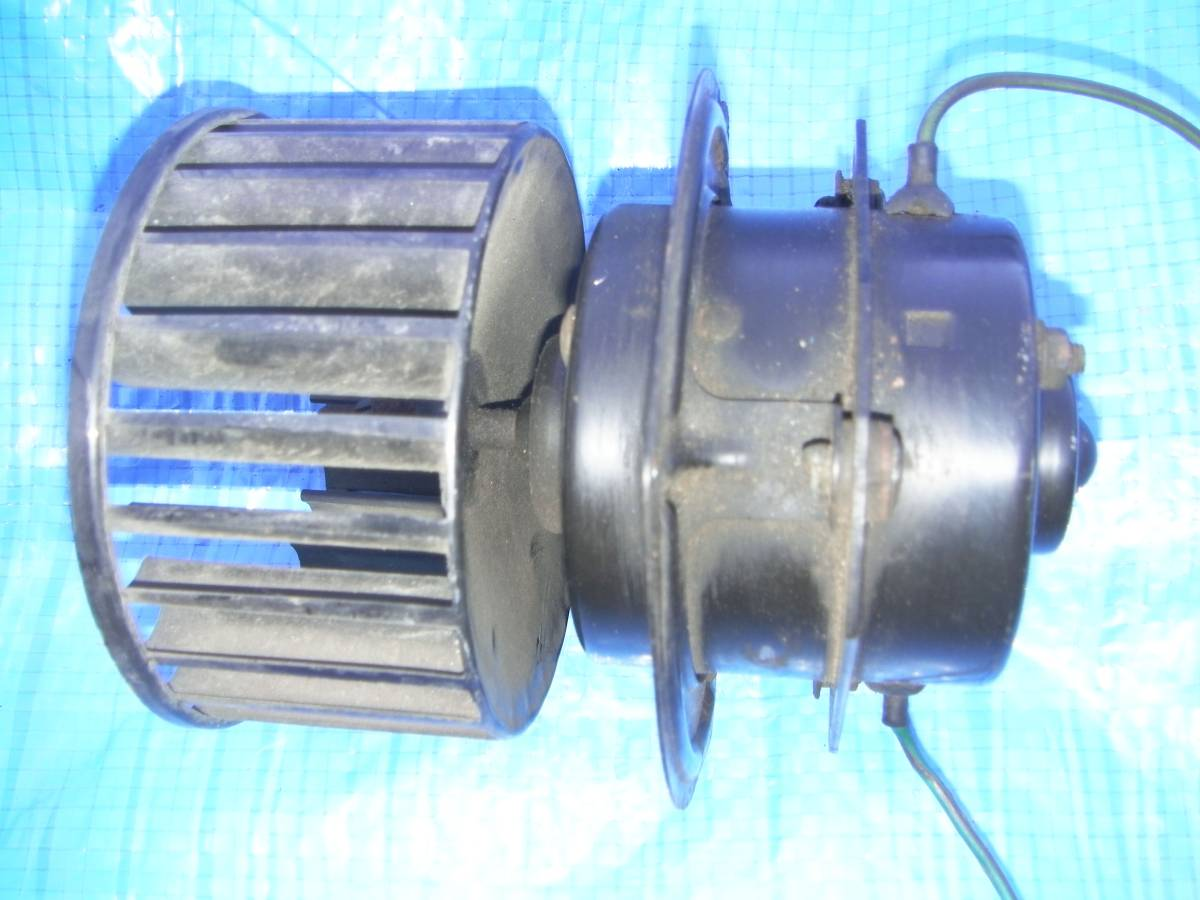 72-80 year MGB heater electric blower fan assy - tested DIY