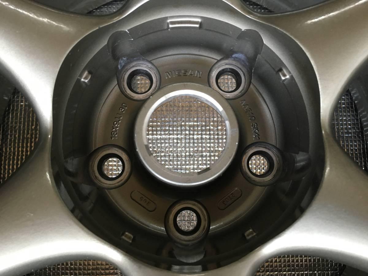 日産純正 BNR34 GT-R 9J +30 鍛造 BBS製 BNR32 BCNR33 R32 R33 R34 GTR 4本_画像9