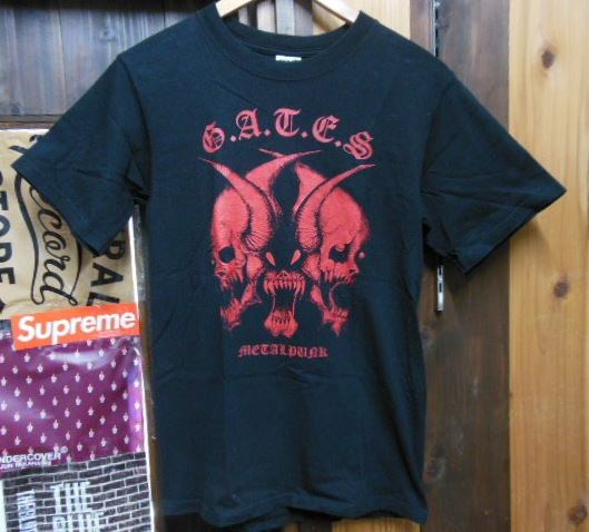 G.A.T.E.S metalpunk Tシャツ DISCLOSE