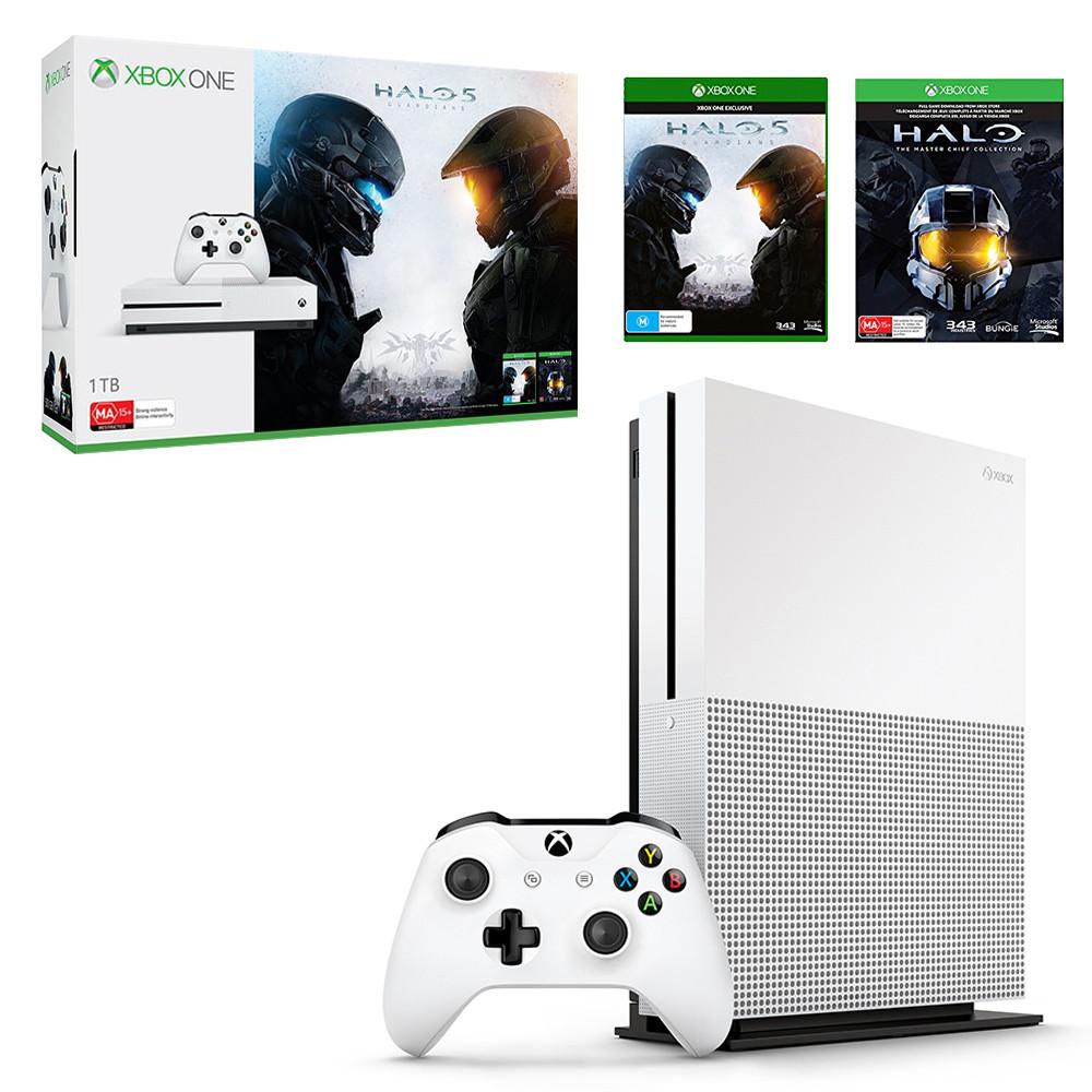 【中古】 送料無料 美品 Xbox One S 1TB Halo Collection 同梱版 付属品ほぼ完備 ゲームご利用コード欠品