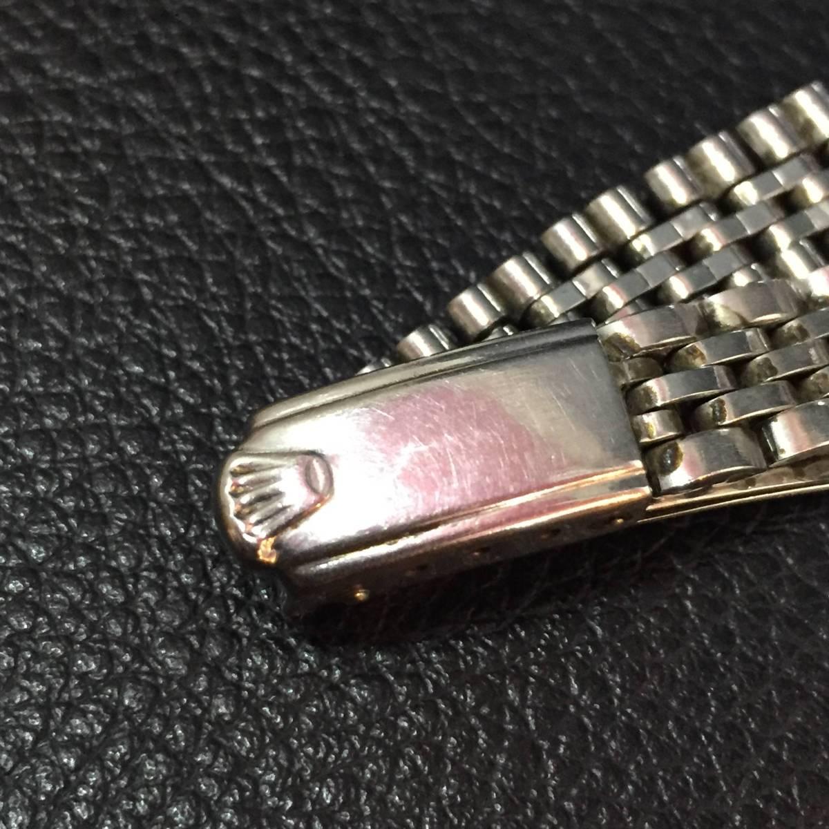 ※動作品 現状品 ROLEX ロレックス レディース デイトジャスト Ref.6924 手巻き腕時計 本体のみ【3002091548/B-2】_画像7