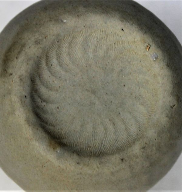 B-329 時代 萬古 万古焼 急須 宝瓶 白泥 白万古 煎茶 茶道具 古玩 蔵出 高さ10.1センチ_画像5