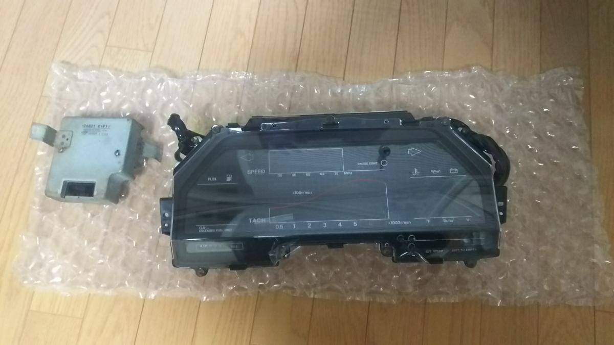 Z31フェアレディZ 北米仕様用デジタルメーター リビルト品 DATSUN 300ZX オーバーホール済 50thアニバーサリー 86モデル _画像1