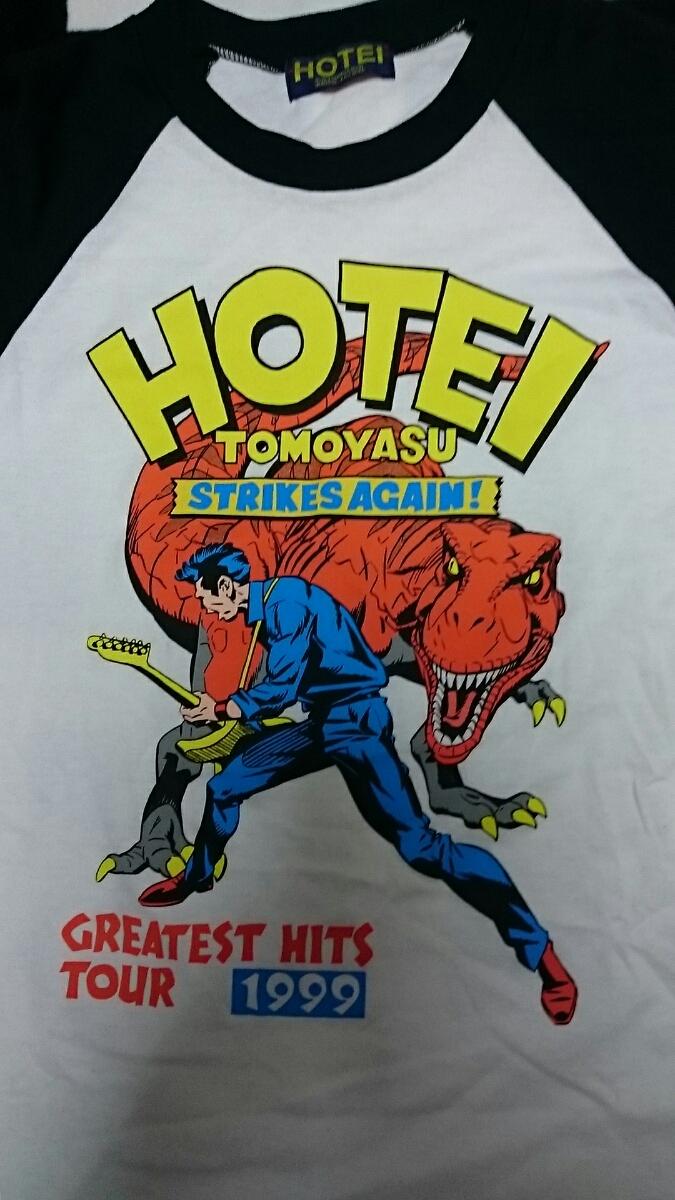 布袋寅泰1999ツアーのイラストTシャツ_画像2