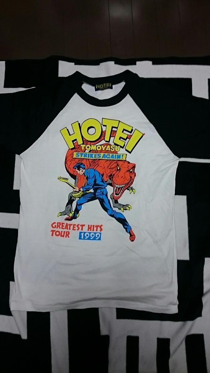 布袋寅泰1999ツアーのイラストTシャツ_画像1