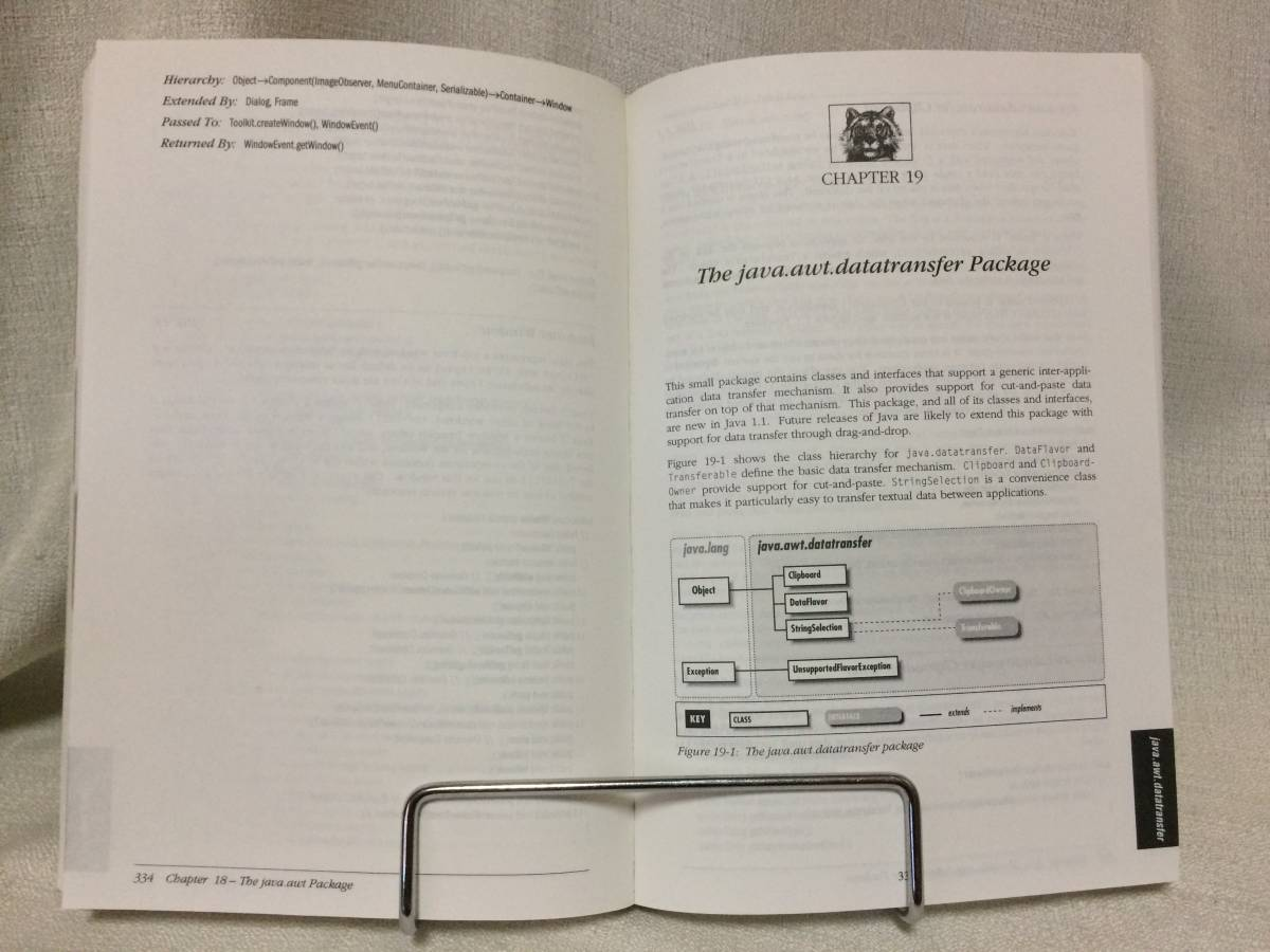 David Flanagan「Java in a Nutshell, a desktop quick reference (O'Reilly)」(オライリー社、1997年、洋書)_画像4
