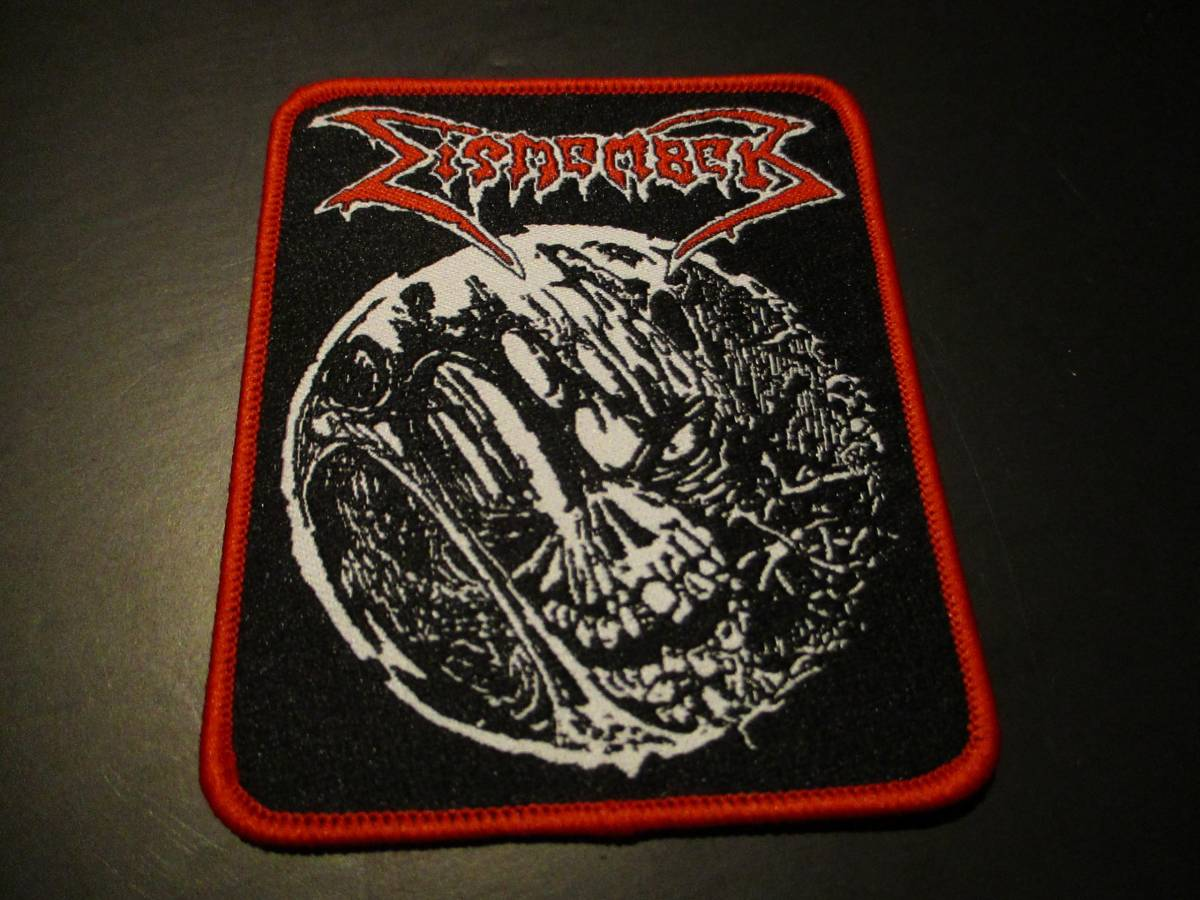 DISMEMBER 刺繍パッチ ワッペン REBORN IN BLASPHEMY 1990 DEMO / slayer exhumed autopsy death angel entombed