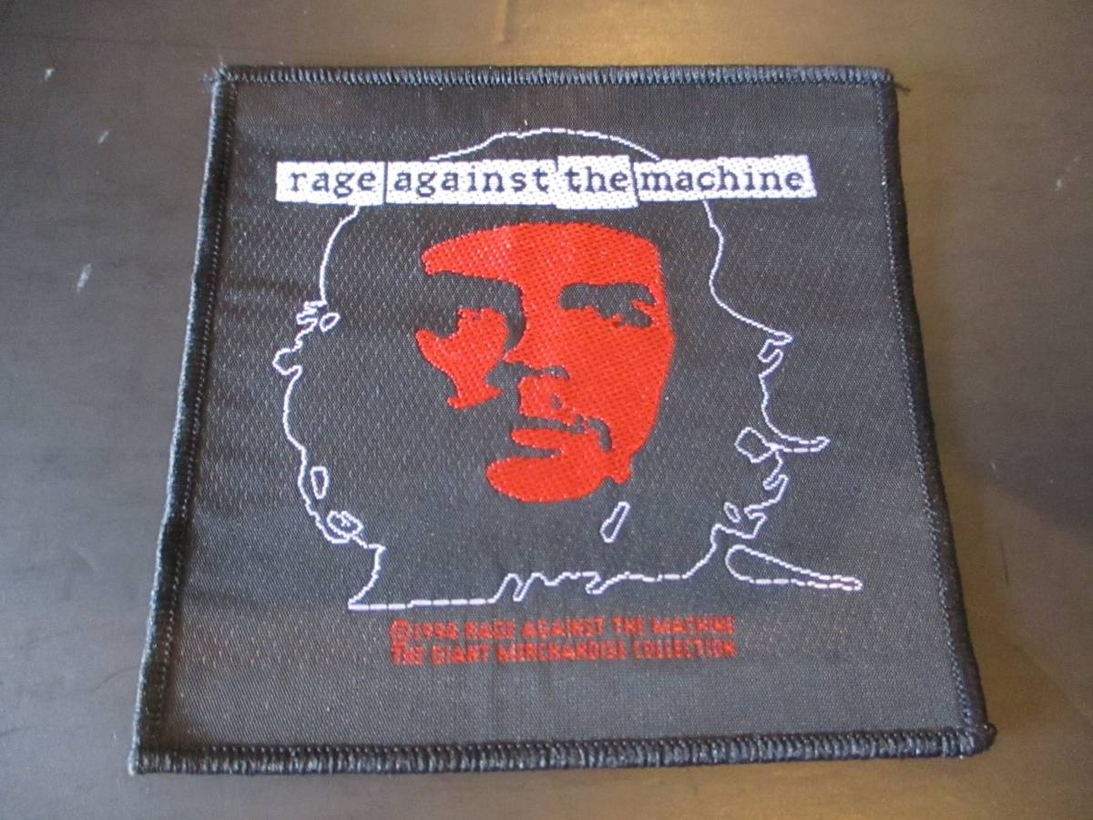 RAGE AGAINST THE MACHINE 刺繍パッチ ワッペン ヴィンテージ デッドストック 1994 / red hot chili peppers nirvana cypress hill