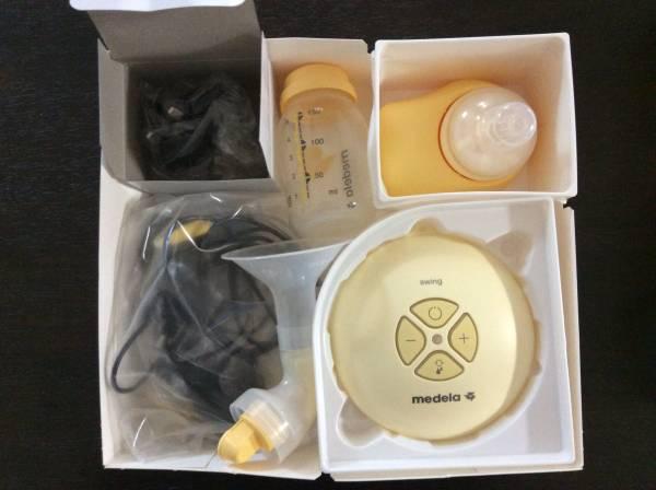◆美品◆medela swing 電動さく乳機 メデラ 搾乳機_画像2