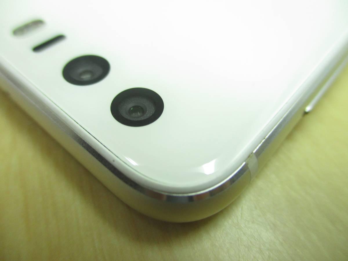 ◆◇1スタ 国内版SIMフリー Huawei HUAWEI honor8 ホワイト 中古美品◇◆_画像9