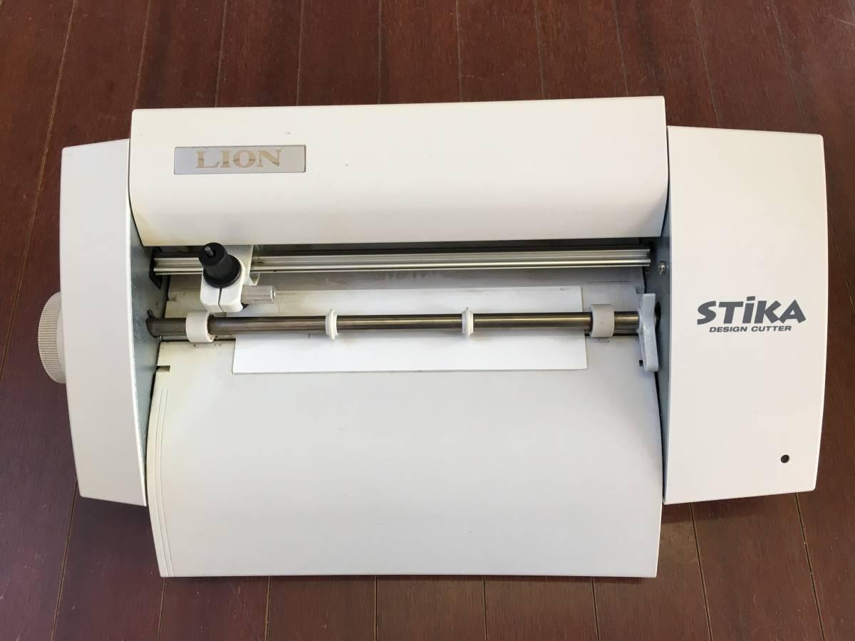 中古 STIKA SV-8L CTグラフィティ付き ローランド ステカ カッティングマシーン シール ステッカー 製作 自作 オリジナル_画像4