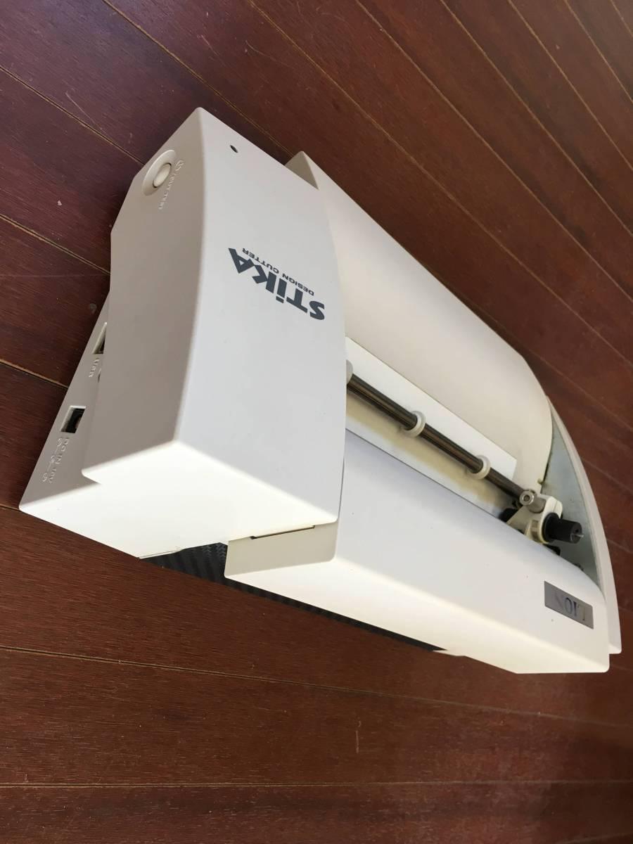 中古 STIKA SV-8L CTグラフィティ付き ローランド ステカ カッティングマシーン シール ステッカー 製作 自作 オリジナル_画像6
