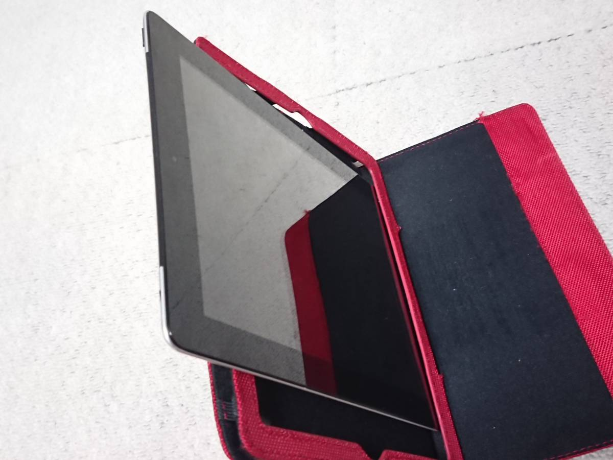 Apple iPad 2 Wi-Fi 3G 64G MC775J/A ブラック 中古