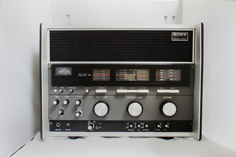【調節済み】SONY ワールドゾーン23 CRF-230 【ラジオの最高峰】_画像2