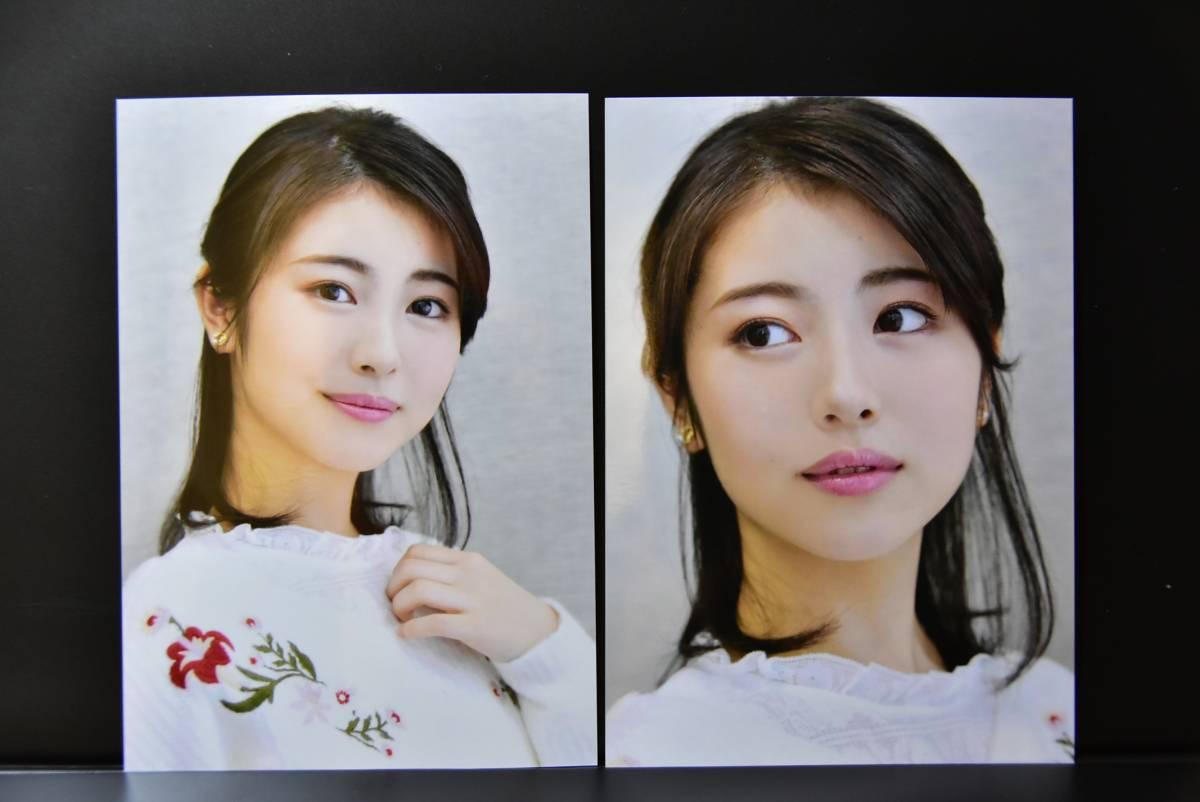 ☆浜辺美波☆ 生写真3枚です。賭ケグルイ あの日見た花の名前を僕達はまだ知らない。 君の膵臓をたべたい 咲-Saki-
