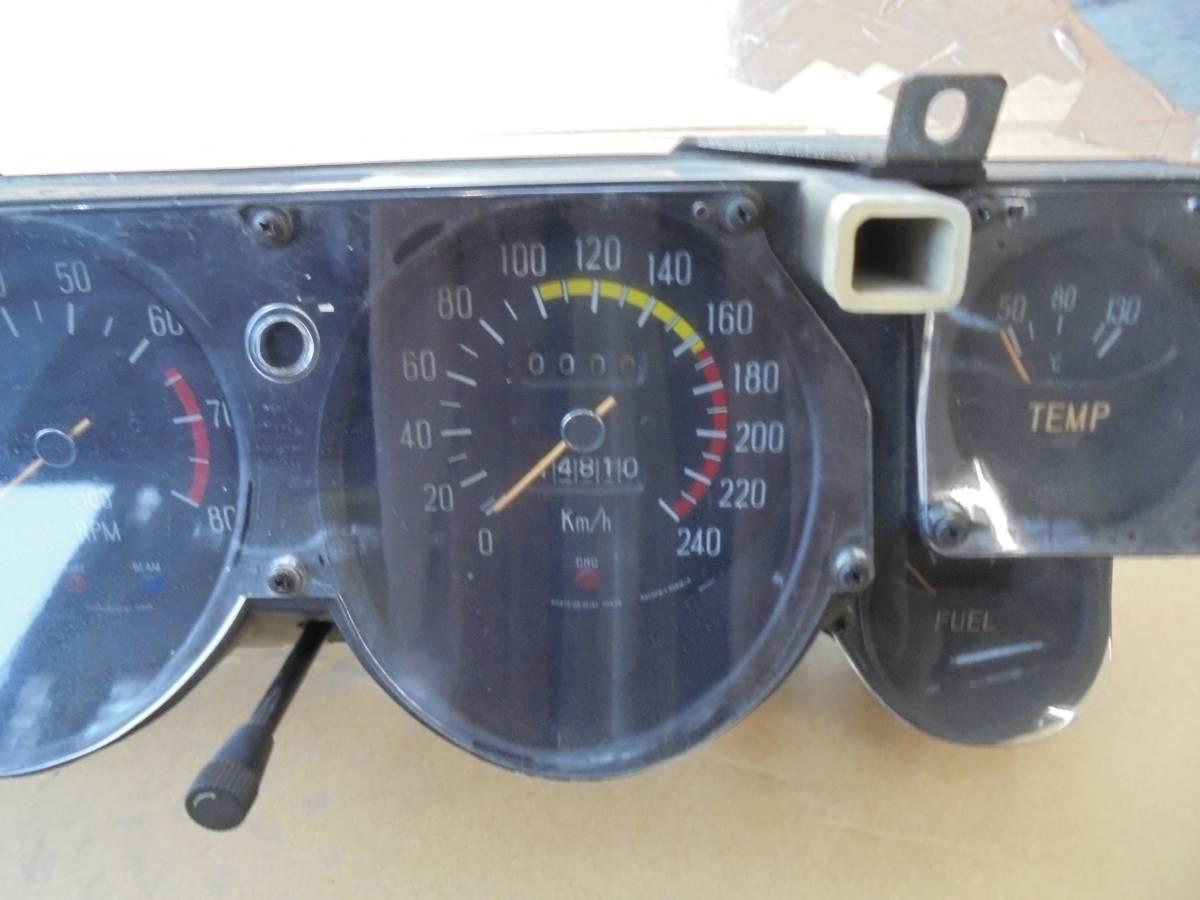 ハコスカ2000GT GTX KGC10 GC10メーター中古_画像2