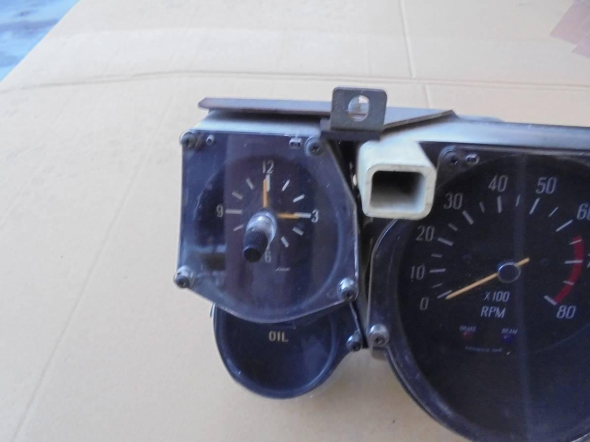 ハコスカ2000GT GTX KGC10 GC10メーター中古_画像4