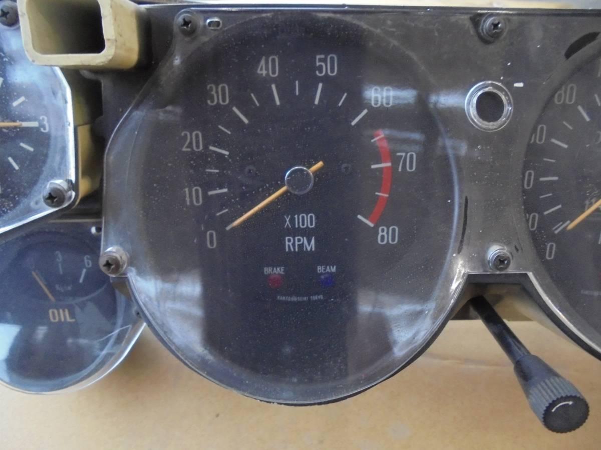 ハコスカ2000GT GTX KGC10 GC10メーター中古_画像7