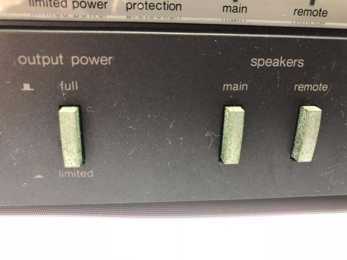 Technics テクニクス SE-A5 ステレオパワーアンプ [120W+120W(8Ω)/ジャンク]_画像2