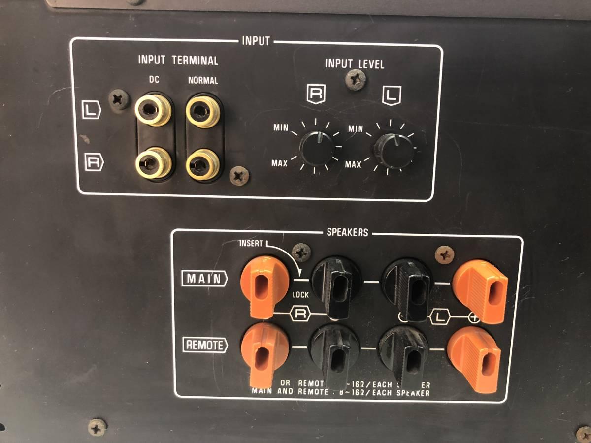 Technics テクニクス SE-A5 ステレオパワーアンプ [120W+120W(8Ω)/ジャンク]_画像6