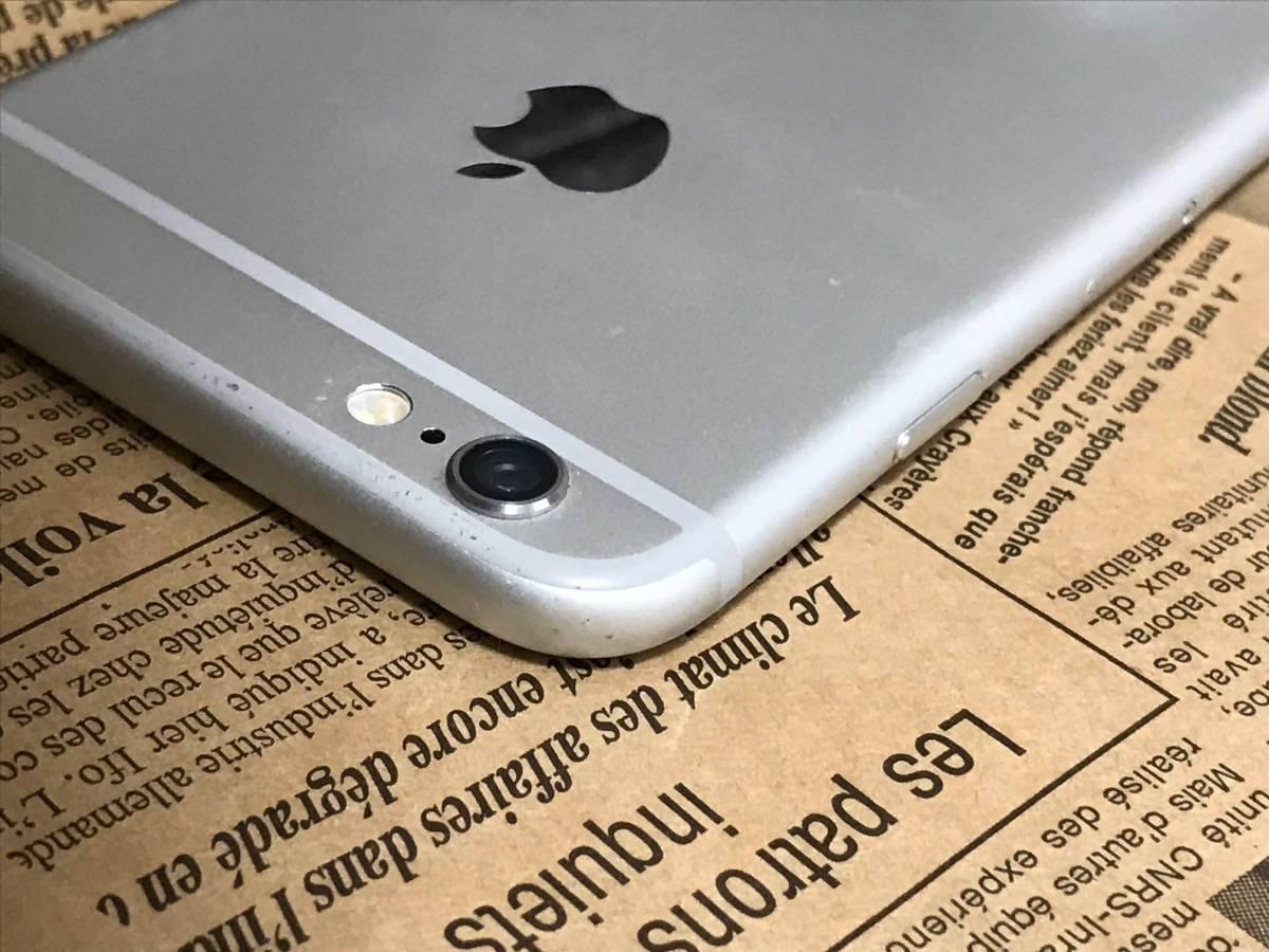 バージョン11.0.3 画面割れ ドコモ iPhone6 16GB シルバー 判定◯ 完済済 管理番号0903_画像4