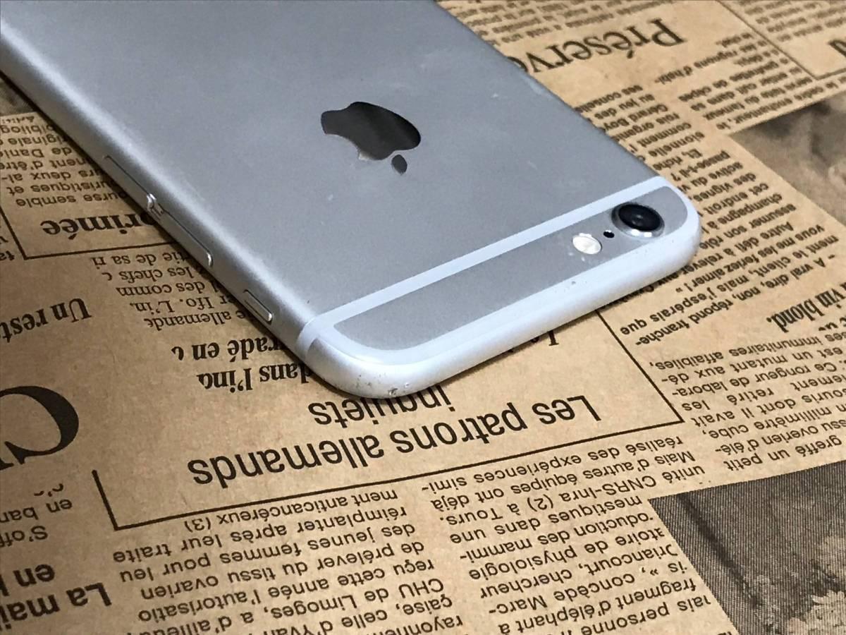 バージョン11.0.3 画面割れ ドコモ iPhone6 16GB シルバー 判定◯ 完済済 管理番号0903_画像5