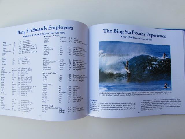 BING SURFBOARDS 50 YEARS ART BOOK/ ビングサーフボード 50周年記念カラー写真集_画像6