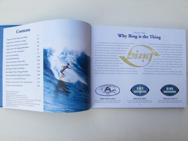 BING SURFBOARDS 50 YEARS ART BOOK/ ビングサーフボード 50周年記念カラー写真集_画像4