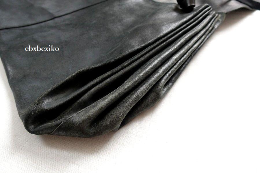 エムエークロス 大型 アコーディオンレザーバッグ MA+_画像4