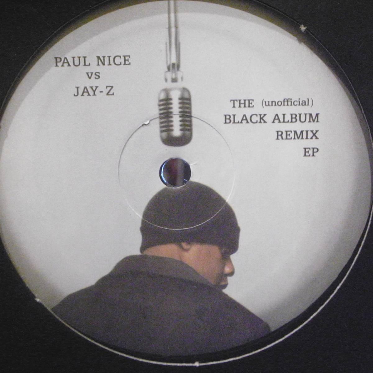★レア ブート 12★Paul Nice vs. Jay-Z★The (Unofficial) Black Album Remix EP★CHANGE CLOTHES★LUCIFER★99 PROBLEMS★ENCORE_画像1