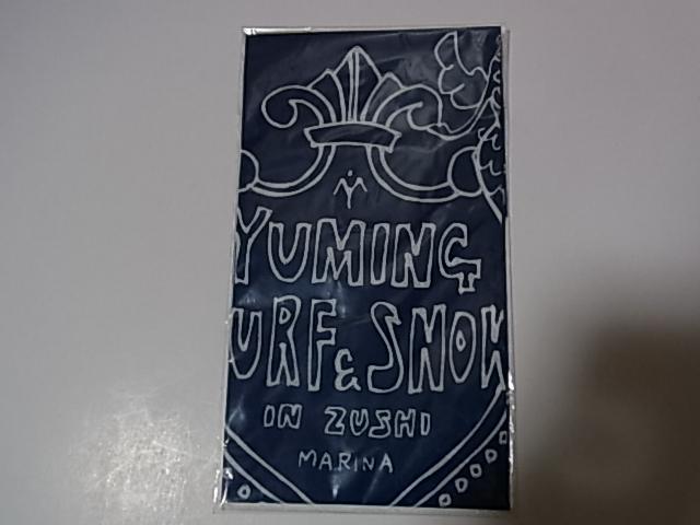 松任谷由実&荒井由実(ユーミン)グッズ(17) SURF & SNOW Zushi Vol.15 バンダナ 新品・未使用