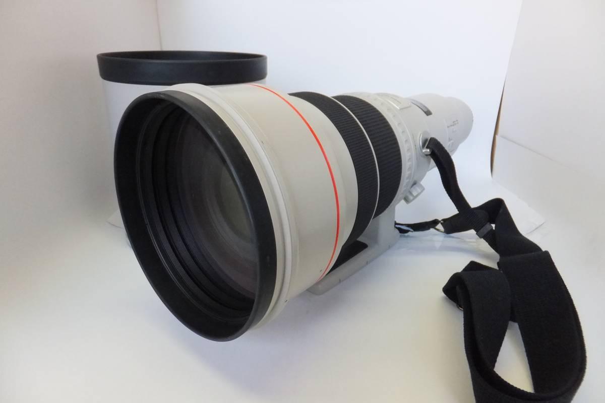 美品 CANON キャノン EF 600mm F4L USM フード ケース PLフィルター 付