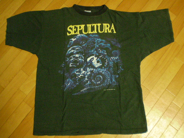 SEPULTURA slayer pantera nailbomb machine head セパルトゥラTシャツ