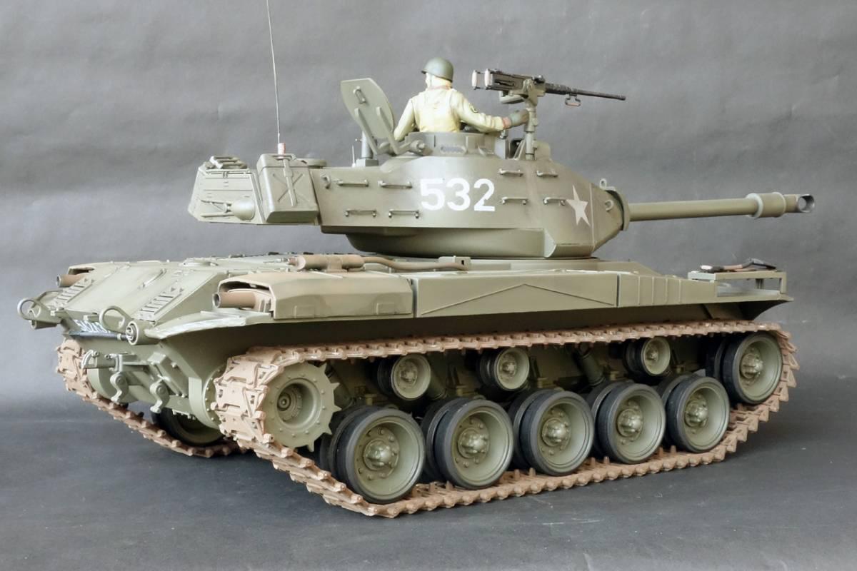 1/16 ヘンロン M41ウォーカー・ブルドック ジャンク_画像5