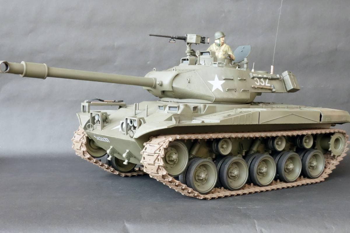 1/16 ヘンロン M41ウォーカー・ブルドック ジャンク_画像3