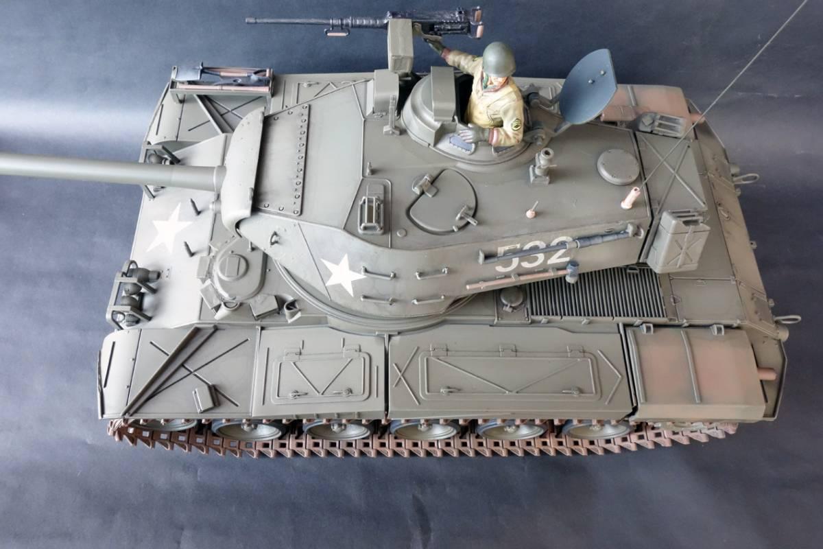 1/16 ヘンロン M41ウォーカー・ブルドック ジャンク_画像9