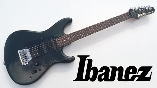 Ibanez RG 140 ROADSTAR SEREIS アイバニーズ ロードスター シリーズ エレキ ギター ヴィンテージ ビンテージ ソフトケース付き 中古 USED_画像1