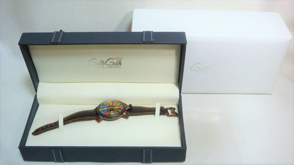 GaGaMILANO ガガミラノ 腕時計 ゼフあ
