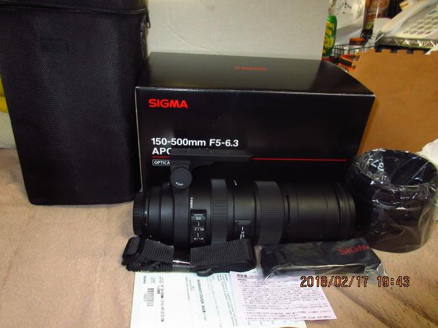 SIGMA 超望遠ズームレンズ APO 150-500mm F5-6.3 DG OS HSM キヤノン用 フルサイズ対応( 中古)