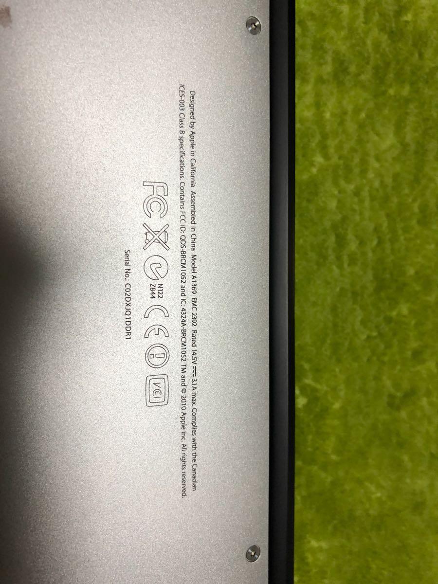 Mac Book Air 13インチ A1369_画像7