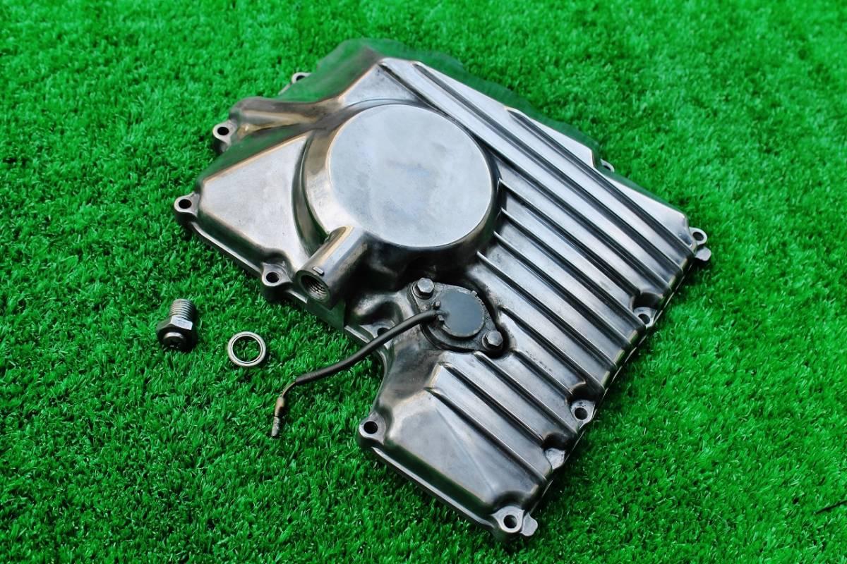 YAMAHA FZR400R オイルパン エンジンカバー ☆2TK 1WG F3レーサーレプリカ used 70128_画像5