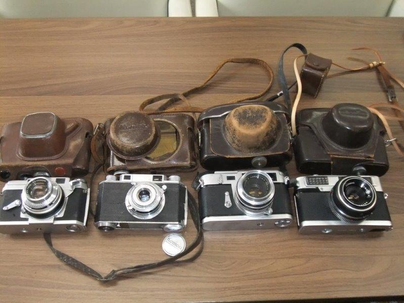 ◆◇アンティークカメラ4台(Konika2台・Aires1台・minolta1台)◇◆