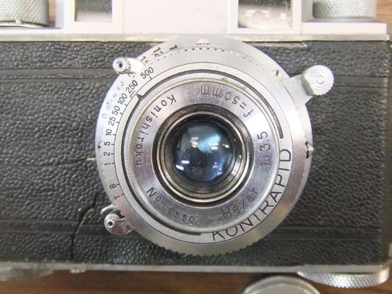 ◆◇アンティークカメラ4台(Konika2台・Aires1台・minolta1台)◇◆_画像4