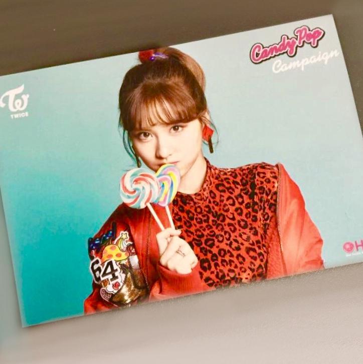 TWICEモモMOMO*Candy Pop*HMV限定ポストカードフォトカードトレカ*リリイベ