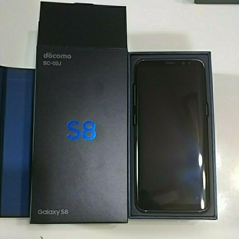 Galaxy S8 Gray 新品未使用 2月20日一括購入品