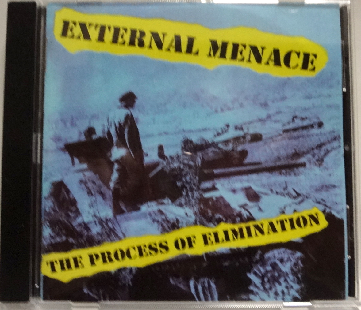 External Menace The Process Of Elimination (1998) 編集盤CD Dr. Strange Records UK82/Discharge/The Exploited/Blitz/The Partisans_画像1