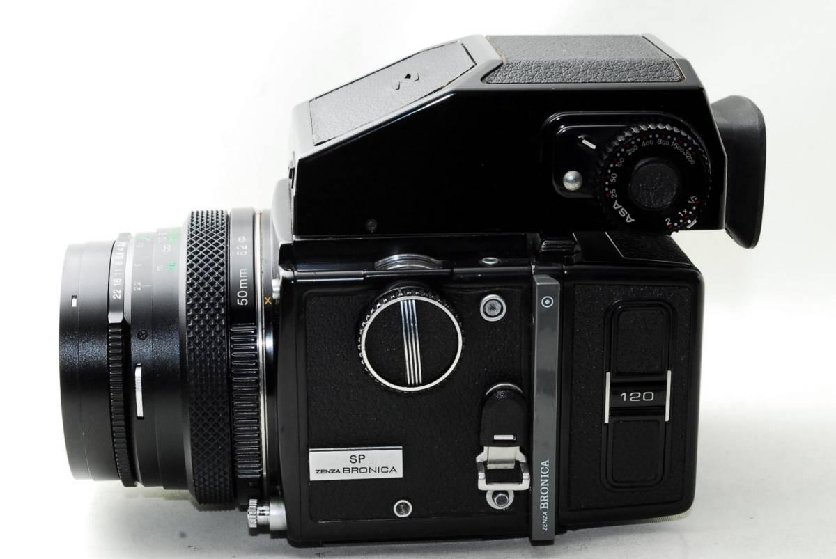 ◆BRONICA ブロニカ ETR SP Zenzanon MC 50mm F2.8 レンズセット◆_画像2