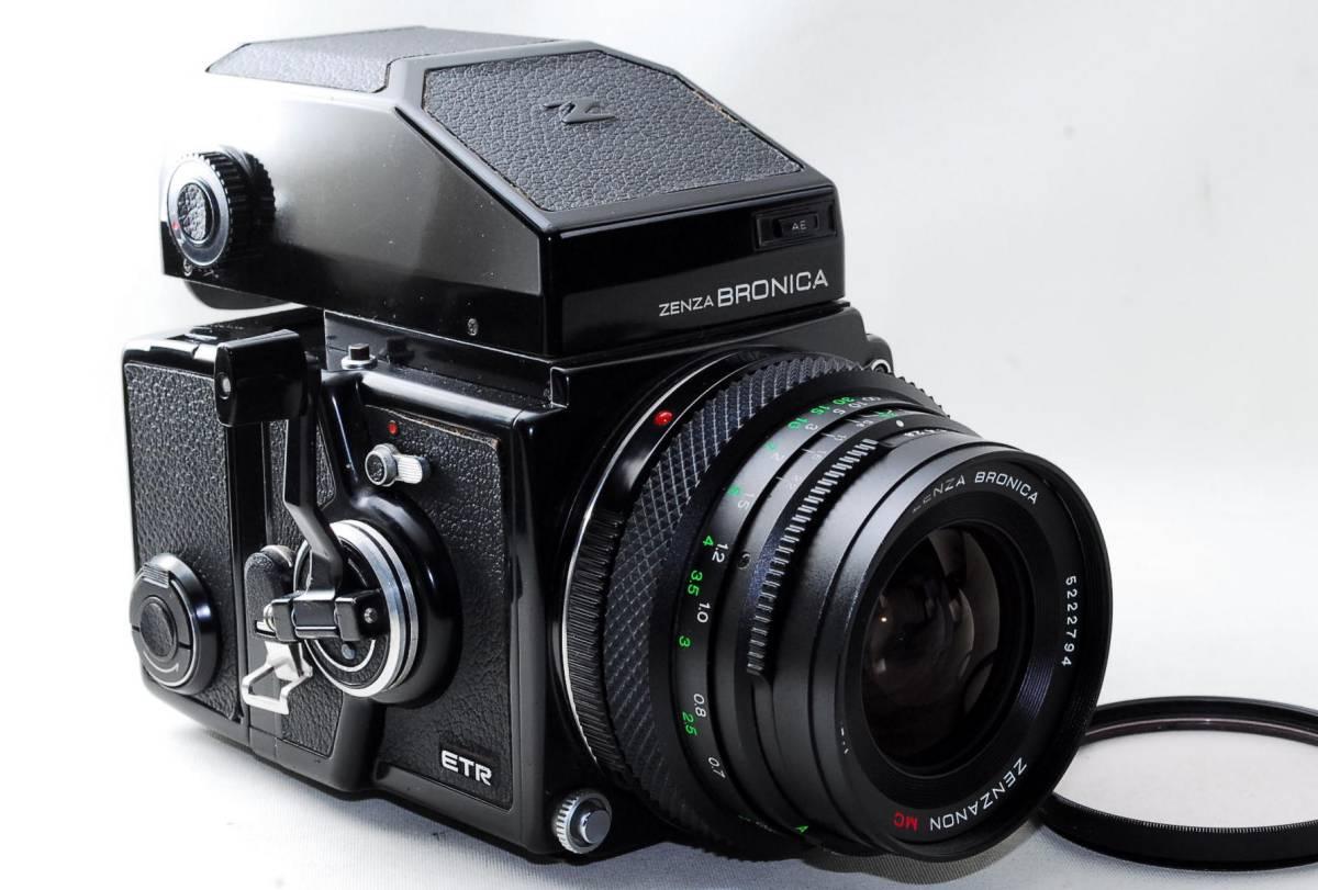 ◆BRONICA ブロニカ ETR SP Zenzanon MC 50mm F2.8 レンズセット◆