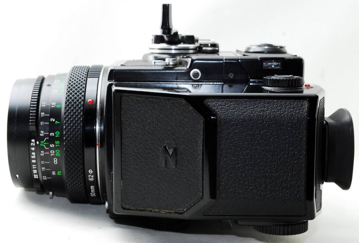 ◆BRONICA ブロニカ ETR SP Zenzanon MC 50mm F2.8 レンズセット◆_画像3