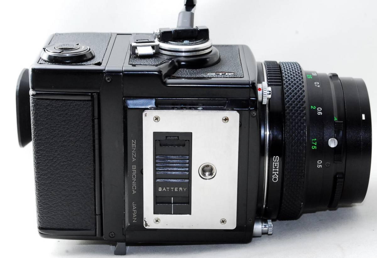 ◆BRONICA ブロニカ ETR SP Zenzanon MC 50mm F2.8 レンズセット◆_画像4